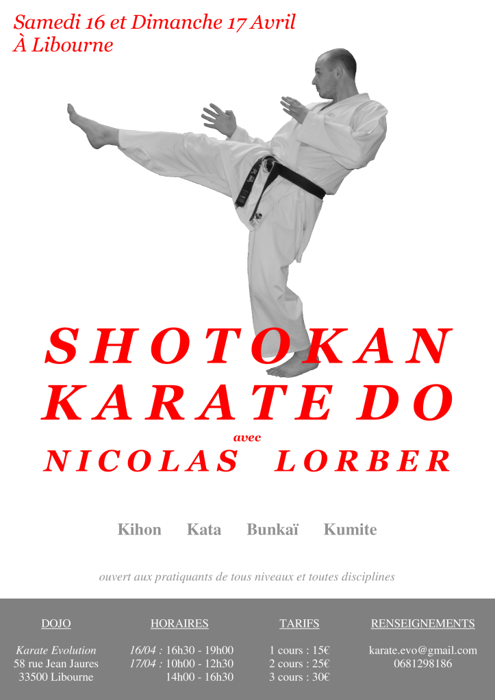 affiche2 stage shotokan avril