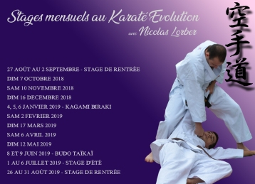 MAJ Affiche stages mensuels